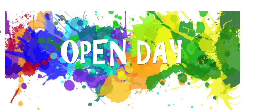 Locandina Open Day 4 ottobre